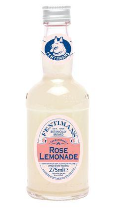 Fentiman's Rose Lemonade...bottled heaven.