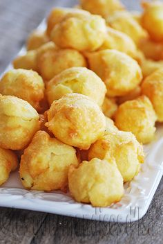 Les gourmandises d'Isa: POMMES DAUPHINES