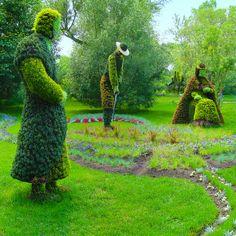 4-Montreal de düzenlenen botanik bahçe yarışmasından. Çok yaratıcı ve güzel şeyler yapmışlar. Fotoğrafların sahibi : Andre Vandal http://www.flickr.com/photos/avdezign/