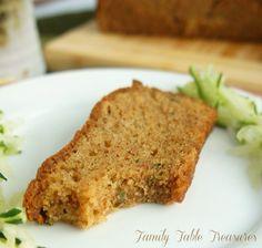 {Secret Ingredient} Zucchini Bread - Family Table Treasures