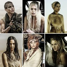 Mad Max: Fury Road Makeup Artist Lesley Vanderwalt on the Secret.: Mad Max: Fury Road Makeup Artist Lesley Vanderwalt on the… Tank Girl, Max Makeup, Mad Max Costume, Imperator Furiosa, Courtney Eaton, Post Apocalyptic Costume, Abbey Lee Kershaw, Mad Max Fury Road, Desert Fashion