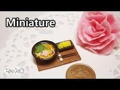 미니어쳐 우동 만들기 Miniature * Udon - YouTube