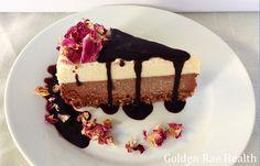 Choc Rose Cheesecake