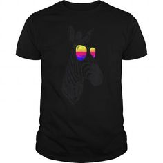 This is a great gift for Zebra Horse lovers Cool Zebra DJ hoodie and Tshirt Tee Shirts T-Shirts