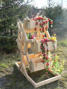 ahşap bahçe saksı ve çiçeklikler - Google'da Ara