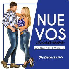 Diseños constantemente,  para que disfrutes lo mejor de #PetrolizadoJeans en #Moda #Diseño y #Estilo