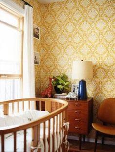A Retro-Inspired Nursery www.thebump.com