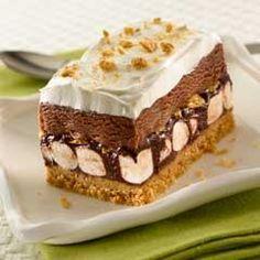 S'Mores Ice Cream Cake