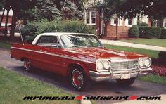 1964 Impala Ss, Chevy Impala Ss, Impalas, Retro Cars, Bel Air, Convertible, Old Things, Trucks, School