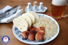 Czech Cookbook - Video Recipes in English - US Measurements - US Ingredients   Roast Pork, Dumplings and Sauerkraut – Vepřo knedlo zelo