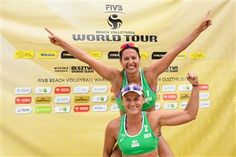 FIVB - Beach Volleyball Laura Ludwig, Fivb Beach Volleyball, Athlete, Sports, Twitter, Hs Sports, Excercise, Sport, Exercise