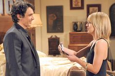 The author appears with Kirsten Storms on 'General Hospital.' He plays 'Franco,' a mysterious artist...