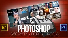 Photoshop Secrets & Dirty Tricks - This course, will take you're retouching knowledge and photoshop workflow to the next level !  - $45