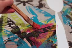 printing and painting fabric