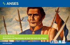 19 de junio. Aniversario del Nacimiento de José Gervasio de Artigas