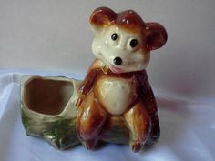 Vintage Figural Planter McCoy or Shawnee by NaturesUniqueBotique, $33.00