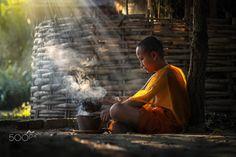 Little smoker by Singha Pungao