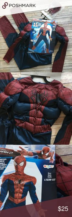 Spider-Man Costume Youth 10/12 NWT & Venice Carnival | Costume R Us | Pinterest | Venice
