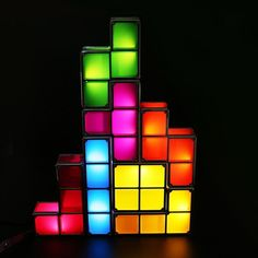 32.40$  Watch here  - Novelty Items Led Lights For Kids Stimulate Imagine Led Russian Cube Colorful Decorative Light DC5V 500mA DIY Small Lights