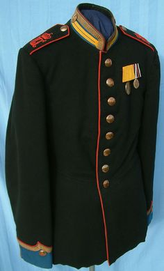 Württemberg Landjägerkorps Sergeant's Tunic German Uniforms, Military Uniforms, Ancient China, Prussia, German Army, Ottoman Empire, Live Action, Victorian Era, Middle Ages