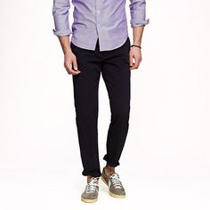 Sun-faded chino in urban slim fit '    Royal and light blue