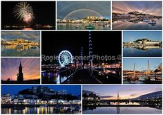 Torquay Harbour Collage - Torbay