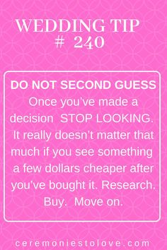 One Year Until Wedding Quotes – 12 Month Wedding Checklist As the bride, most of the wedding many decisions are yours to make. Make your planning less stressful by prioritizing what you want and focusing your budget the. Free Wedding, Budget Wedding, Perfect Wedding, Wedding Planner, Wedding Day, Wedding Stuff, Wedding Ceremony, Wedding Punch, Wedding Blog