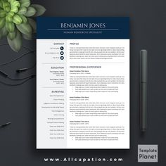 Boost your chances of securing a great job by using this creative allcupation modern resume template cv template cover letter 1 2 yelopaper