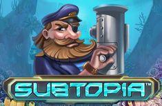 Subtopia — игровой автомат, посвященный исследователям подводного мира. Реальные деньги на карту принесут его пять барабанов с 20 линиями. Аппарат привлекателен случайными множителями и серией фриспинов, которые обеспечат вывод действительно крупных призов.