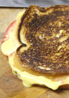Classic Grilled Cheese & Tomato Sandwich Recipe