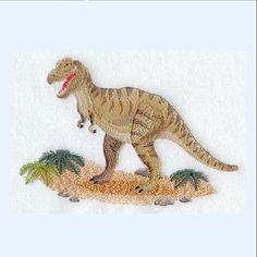 """""""Tyrannosaurus+rex""""+Stickapplikation+von+stick-app+der+Shop++für+Stickereien,+Applis+und+mehr+auf+DaWanda.com"""