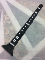 Clarinet perler beads by OtakuLuka on deviantart Melty Bead Patterns, Hama Beads Patterns, Beading Patterns, Peler Beads, Iron Beads, Melting Beads, Instruments, Beaded Cross Stitch, Perler Bead Art