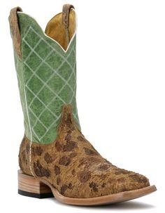 d0bd7d950d6e Womens Cinch Boots DS Atilla Invasion Moody Green Square Toe Cowboy Boot  Ugg Boots Australia,