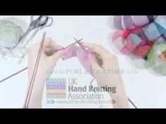 How To Purl 2 Together (P2Tog) - YouTube