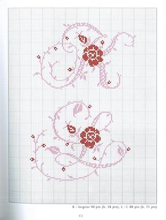 Gallery.ru / Фото #132 - Belles lettres au point de croix - logopedd