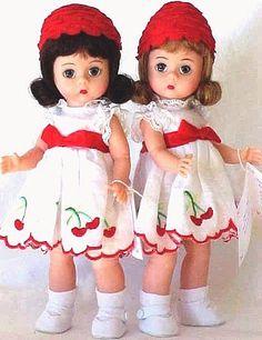 Madame Alexander Cherry Twins