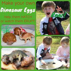 DIY Dinosaur Eggs!