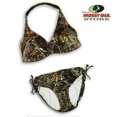 Camo bikini Camo swimsuit Mossy Oak Country Summer Summertime