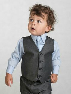 """Rococlothing.co.uk. Suit """"harry"""" in charcoal. Shirt and tie come in blue, will need to buy a white shirt, and lilac/lavender tie. £16.99!"""