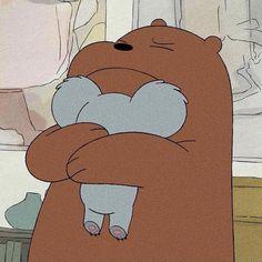 The animation We Bare Bears tells the story of Brown, Panda and . Ice Bear We Bare Bears, We Bear, Bear Cartoon, Cartoon Icons, Cute Disney Wallpaper, Cute Cartoon Wallpapers, We Bare Bears Wallpapers, Cartoon Profile Pictures, Bear Wallpaper