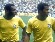 Pelé e Jairzinho