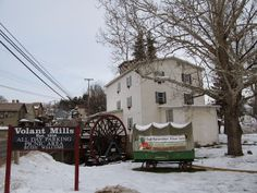 Rock-Oak-Deer: Living like it's 1849: Volant and Amish Country: Volant Mill in western PA