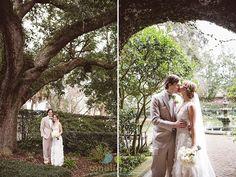 Kacey Swan and Jesse Nogel's wedding at the Governor Thomas Bennett House in Charleston SC. Wedding photographer Charleston SC, modern vintage photography, amelia + dan, 843.801.2790, ameliaanddan.com