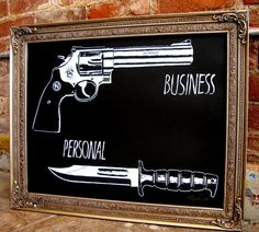 Business/Personal Print by Ramsey Dau