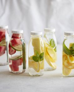 DIY Spa Day / Infused Spa Water from www.whatsgabycooking.com (@whatsgabycookin)