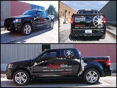 Vehicle Wrap Pickup Truck Graphics
