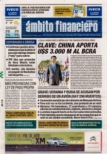 OpinionPublicaSantafesina(ops): diarios de argentina 18 de julio