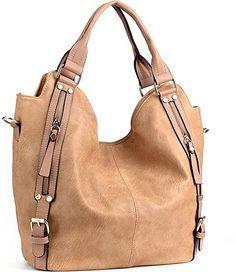 495a2195be2e1 iYaffa Handtaschen Damen Taschen Schultertaschen Umhängetaschen Handtaschen  für Frauen PU Leder Tote Hobo Taschen Damen Henkeltaschen