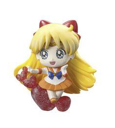 Sailor Moon Petit Chara Land Pretty Soldier Trading Figure 6 cm Sailor Venus