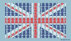 Union Jack Dalek t-shirt